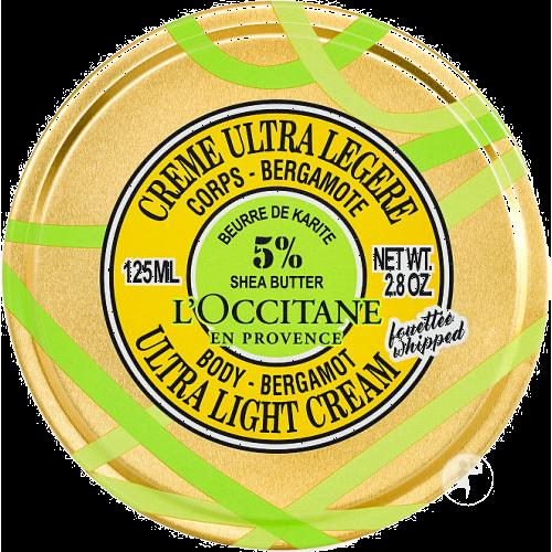 Crème Corps Fouetté - 5% Beurre de Karité et Bergamote 125 ml