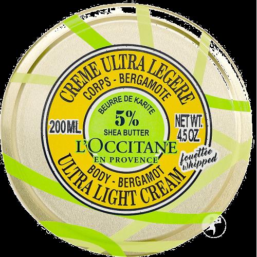 Crème Corps Fouetté - 5% Beurre de Karité et Bergamote 200 ml