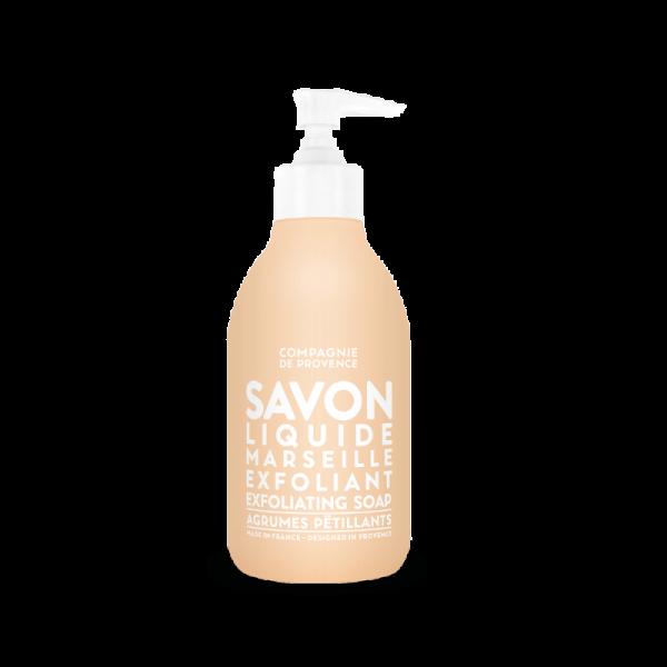 Savon Liquide de Marseille Exfoliant - Agrumes Pétillants 300 ml