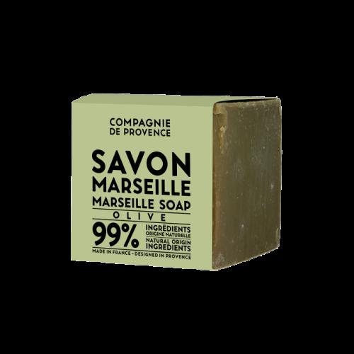 Savon de Marseille - Vert (Huile D'Olive) 400 Gr