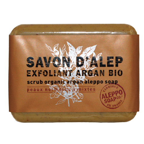 Savon exfoliant argan