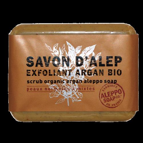 Savon exfoliant à l'huile d' Argan