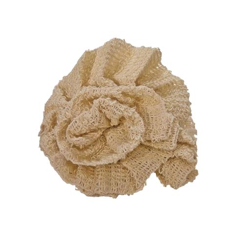 Éponge Fleur sisal
