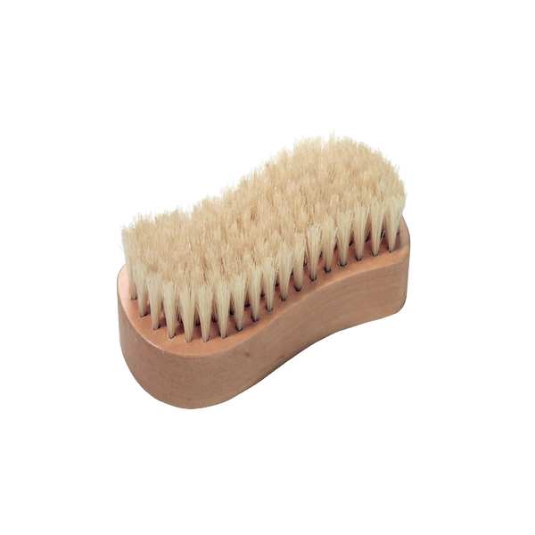 """Brosse à ongles mains/pieds forme """"S"""""""