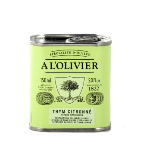Huile d'Olive Thym citronné