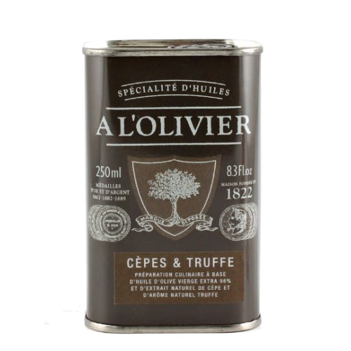 Huile d'Olive cèpes & Truffe