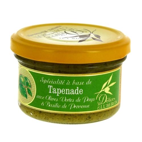 Tapenade aux olives vertes et basilic