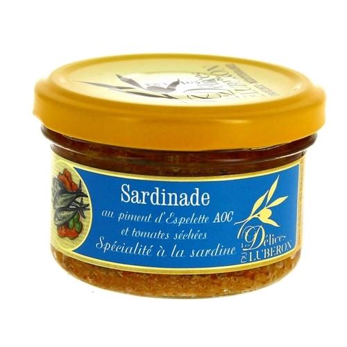 Sardinade au piment d'espelette AOC et tomates sechees