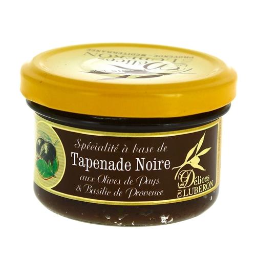 Tapenade aux olives noires et basilic