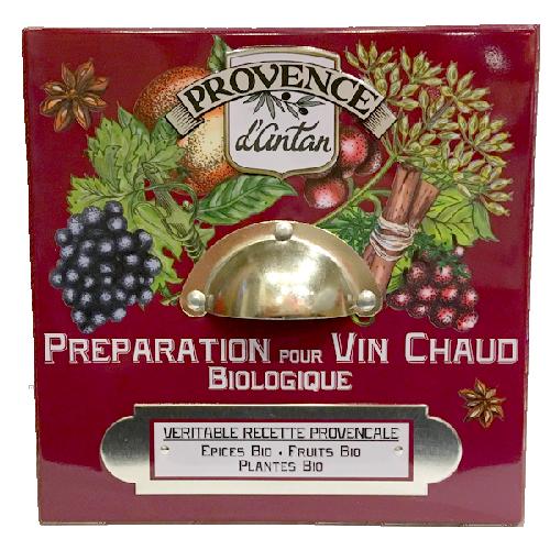 Tisane Bio Préparation pour Vin chaud