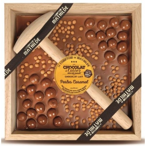 Chocolat à Casser Perles Caramel